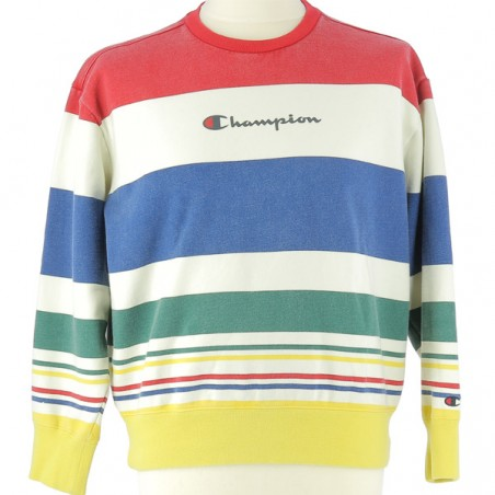 Pull vintage Champion coloré